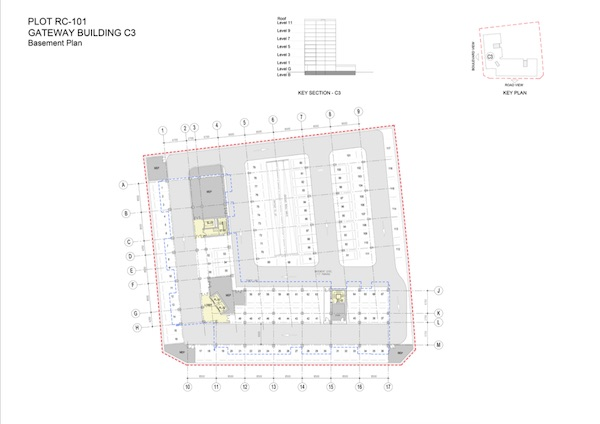 Gateway Building C3-Basement Plan