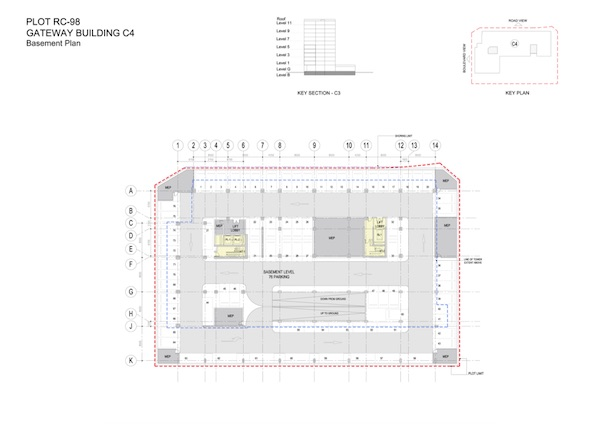 Gateway Building C4-Basement Plan