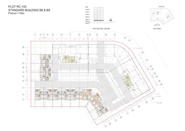 Standard Building B8 & B9-Podium 1